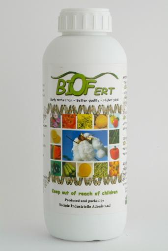 Biofert 2-3-15 + 0.1 FE(chelate)